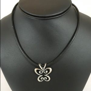 """James Avery Retired Spring Butterfly on 16"""" Cord"""
